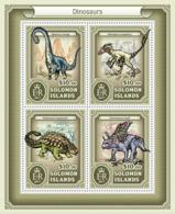 Solomon Islands 2017 Dinosaurs - Solomon Islands (1978-...)