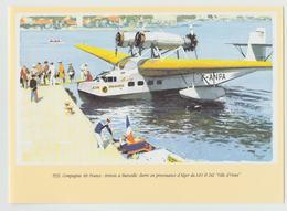 AIR FRANCE Airlines COLLECTION  MUSÉE 1990 Compagnie Aeromaritime Depart De Dakar Pour Dakar Cover Art S 43 - Posters
