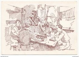 CPSM - La Vie Du Prisonnier - N°3 Les Heures Sont Longues - Aide Aux Universitaires Prisonniers - Genève - Guerra 1939-45