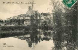 BELLAC . SUD . VUE SUR LE VINCOU 87   (scan Recto-verso) FRCR00059 P - Bellac