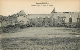 HARAUCOURT - FERME EN RUINES   Militaria Carte Vierge  (scan Recto-verso) FRCR00060 P - Homecourt
