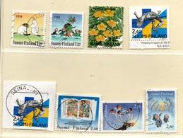 Finnland 1994 Siehe Bild/Beschreibung 8 Marken Gestempelt; Finland Used - Finland