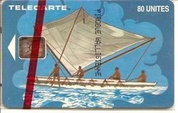 * < WF6 ¤ Pirogue - 1500ex - NSB - Wallis Und Futuna