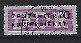 Germany (DDR) 1956 Dienstmarken Fur Den ZKD (o) Mi.9 - [6] Democratic Republic