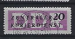 Germany (DDR) 1956 Dienstmarken Fur Den ZKD (o) Mi.7 - [6] Democratic Republic
