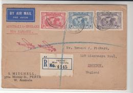 Australia / Airmail / Maps / G.B. - Australie