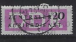 Germany (DDR) 1957 Dienstmarken Fur Den ZKD (o) Mi.11 - Oficial