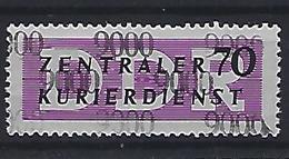 Germany (DDR) 1957 Dienstmarken Fur Den ZKD (**) MNH  Mi.13 - Oficial