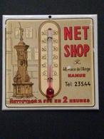 Namur - Thermomètre Publicitaire NET SHOP / Nettoyage à Sec - Pubblicitari