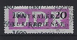 Germany (DDR) 1957 Dienstmarken Fur Den ZKD (o) Mi.15 - Oficial