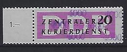 Germany (DDR) 1957 Dienstmarken Fur Den ZKD (**) MNH  Mi.15 - Oficial