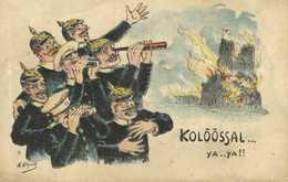 Illustrateur H Alquié Satirique KOLOOSAL ...ya ..ya!! RV - Patriotiques