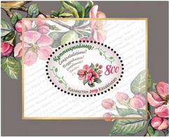 Kazakhstan 2019. Souvenir Sheet.Flowers Of The Apple Tree.NEW!!! - Kazakhstan