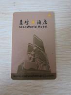 Star World Hotel,Macau(backside With CEG Privilege Club Logo) - Hotelkarten