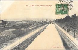Dijon - Le Canal De Bourgogne - Edition J. Gérin - Carte N° 446 - Dijon