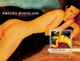 Guinea Bissau  2003 Paintings Of Modiglianni - Guinea-Bissau