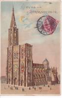 STRASBOURG(GRUSS) CONTRE LA LUMIERE - Tegenlichtkaarten, Hold To Light