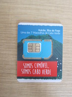 CVMOVEL GSM SIM Card,Volcano,small Size, Fixed Chip - Cabo Verde