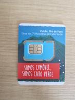 CVMOVEL GSM SIM Card,Volcano,small Size, Fixed Chip - Kapverden