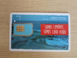 CVMOVEL GSM SIM Card,Carbeirihnho Cave, Fixed Chip - Cape Verde