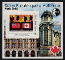 France //  Bloc CNEP Salon D'Automne à Paris- Canada - CNEP