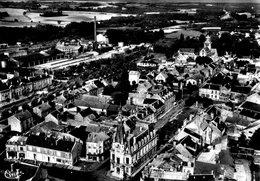 CPSM Fismes Vue Aérienne Hotel De Ville - Le Centre - Fismes