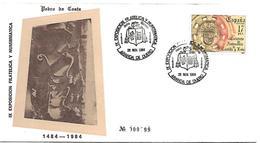 España, 1984 - Marcofilia - EMA ( Maquina De Huellas A Franquear)