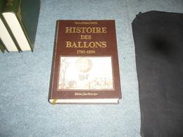 ( Aéronautique Ballon Aviation ) G. Tissandier  Histoire Des Ballons - Aerei
