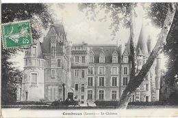 Combreux (Loiret) Le Château, Petite Animation - France