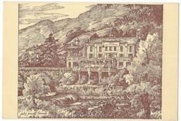 Sospel Hotel Des Etrangers Domerego Propriétaire Illustrateur Jules-François Bernard Editions Graphismes Nice - Sospel