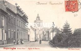 Petite Place  Eglise St. Bertin - Poperinge - Poperinge