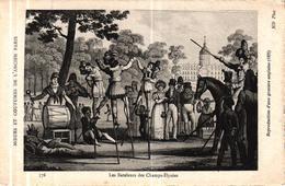 MOEURS ET COUTUMES DE L'ANCIEN PARIS - LES BATELEURS DES CHAMPS ELYSEES - Autres