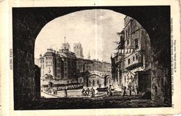 ANCIEN PARIS - VUE PRISE D'UNE ARCHE DU PONT SAINT MICHEL SUR L'HOTEL DIEU ET NOTRE DAME VERS 1804 - Autres