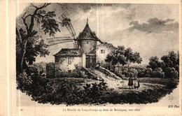 ANCIEN PARIS - LE MOULIN DE LONGCHAMPS AU BOIS DE BOULOGNE VERS 1825 - Autres