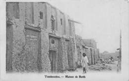 MALI Ancien Soudan Français TOMBOUCTOU Maison De Barth  2 (scan Recto Verso)nono0106 - Malí