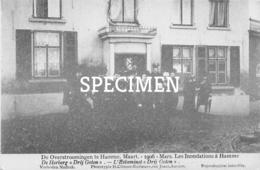 Overstromingen Te Hamme Maart 1906 - De Herberg Drij Goten - Hamme
