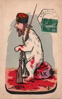 CARICATURE TSAR RUSSIE GUERRE 1914 1918 OURS RUSSE  A VOIR  !!!! - Humoristiques