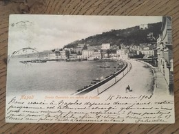 CPA, NAPOLI - STRADA Caracciolo Con Veduta Di Posillipo, écrite En 1903, Timbre, éd Ctini, Napoli, Bon état - Napoli (Napels)
