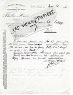 68 - Haut-rhin - KRUTH - Facture FLIELLER-HAVE - Scierie, Commerce De Bois - 1924 - REF 125A - 1900 – 1949