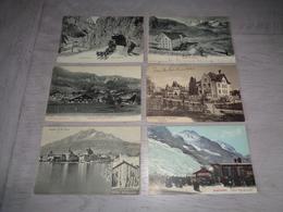 Lot De 60 Cartes Postales De Suisse    Lot Van 60 Postkaarten Van Zwitserland  Switserland  Svizzera  Sweiz - Postkaarten