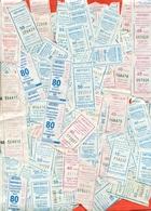 Kazakhstan 2012-19. City Karaganda. Lot Of  203  Tickets On Bus. - Bus