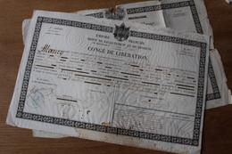 2 Congés De Réforme Militaire  Autographe Maréchal Magnan - Documents Historiques