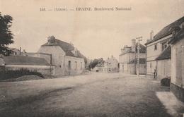 02--BRAINE---BOULEVARD NATIONAL--TBE--VOIR SCANNER - Frankreich