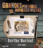 Guinea Bissau  2015  Paintings Of Berthe Morisot - Guinea-Bissau