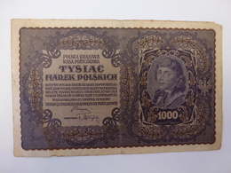 1 BILLET POLONAIS A IDENTIFIER, VOIR SCAN RECTO-VERSO DE 1919 - Poland