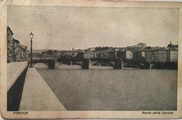 V 11108 Firenze - Ponte Della Carraia - Firenze