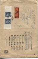Böhmen Und Mähren # 106 (2x) Wertbrief Prag > Pilsen - Briefe U. Dokumente