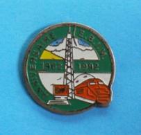 1 PIN'S //   ** E.B.I.M / ANNIVERSAIRE / 1962 \1992 ** - TGV