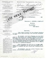 78 - Yvelines - CONFLANS-STE-HONORINE - Facture BERNARD - Transport Par Eau, Affrêtements - 1941 - REF 125A - France