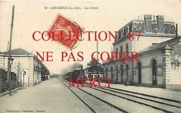 44 ☺♦♦ ANCENIS - GARE Avec TRAIN - BAHN - BAHNHOF -  Edition Vasselier N° 12 - Ancenis